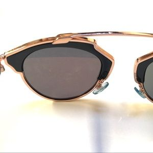 7d2c588bfedb Dior Accessories - Christian Dior so real navy rose gold sunglasses